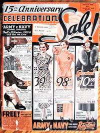 image of 15th Anniversary Celebration. Army_Navy General Catalogue Fall_Winter, 1937-8.