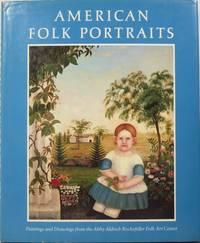image of American Folk Portraits From the Abby Aldrich Rockefeller Folk Art Center