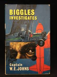 image of Biggles Investigates; And Other Stories of the Air Police (Main character: Biggles; Publisher series: Biggles.)