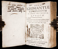 Opus Geomantiae Completum in Libros Tres Divisum