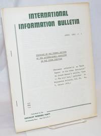 Position of the French Section of the International Committee on the Cuban question. (Document referred to as Draft Report on the Cuban Revolution in Joseph Hansen\'s article, \