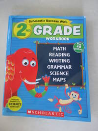 NEW 2018 Edition Scholastic - 2nd Grade Workbook with Motivational Stickers