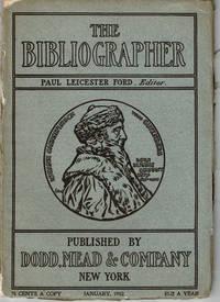 THE BIBLIOGRAPHER. January 1902.