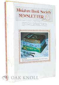 MINIATURE BOOK SOCIETY NEWSLETTER.|THE