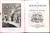 The scribleriad: an heroic poem. In six books by  Richard Owens (1717-1802) CAMBRIDGE - Hardcover - 1751 - from Fine Editions Ltd (SKU: BB1617)