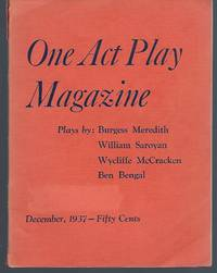 One Act Play Magazine: Volume 1, Number 8, December 1937