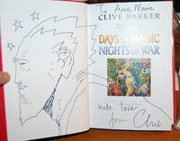 Abarat: Days of Magic Nights of War. [Inscribed by Barker with 2-page original sketch].