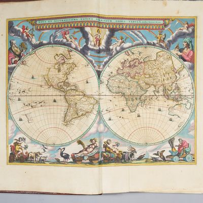Nuevo Atlas, o Teatro Del Mundo, en...