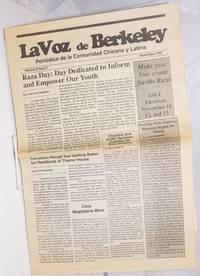 image of La voz de Berkeley: periódico de la comunidad Chicana y Latina vol. 3, #1, November 1992; Raza Day