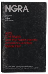 AIDS, Civil Rights and the Public Health:  America's Leaders Speak Out [Cover title]