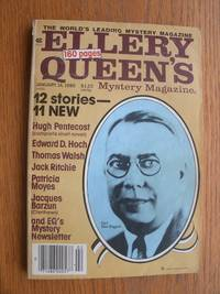 Ellery Queen's Mystery Magazine January 14, 1980 by  Edward D. Hoch  Patricia Moyes - Paperback - First edition first printing - 1980 - from Scene of the Crime Books, IOBA (SKU: 20040)