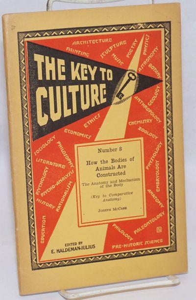 Girard: Haldeman-Julius Publications, nd. Pamphlet. 63p., staplebound 8.5 x 5.5 inch pamphlet in dec...