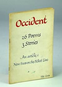 Occident; Fall, 1960.