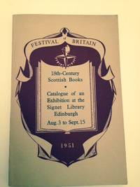 Catalogue Of An Exhibition Of 18th-Century Scottish Books At The Signet Library Edinburgh