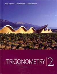 Trigonometry by  Saleem Stewart  Lothar; Watson - Hardcover - 2012-01 - from Providence In Motion and Biblio.co.uk