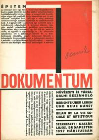 image of Dokumentum: művészeti és társadalmi beszámoló [Document: artistic and social reports], nos. 1-5 (all published)