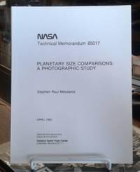 image of NASA Technical Memorandum 85017 Planetary Size Comparisons: a Photographic  Study