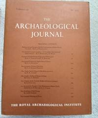 The Archaeological Journal, Volume 130, for 1973