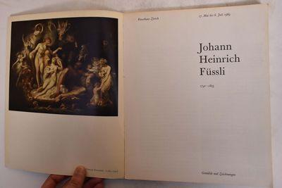 Zurich: Kunsthaus Zurich, 1969. Paperback. VG- crack at bottom of spine, light wear to extremities a...