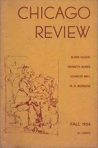 Chicago Review, Vol. 8, no,. 4, 1954