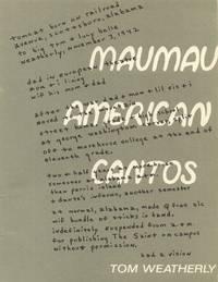 Maumau American Cantos