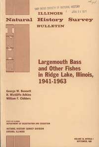 image of Largemouth Bass and Other Fishes in Ridge Lake, Illinois, 1941-1963