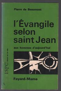 image of L'évangile selon saint-jean aux hommes aujourd'hui