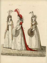 Untitled Fashion Print from Heideloff's The Gallery of Fashion. Fig. 40. Fig. 41. Fig. 42.