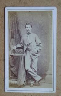 Carte De Visite: Studio Portrait of a Gentleman.