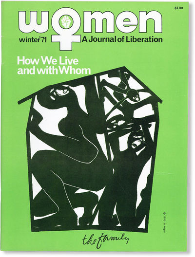 Baltimore: Women: A Journal of Liberation, 1970. First Edition. Quarto (27.75cm); illustrated card w...