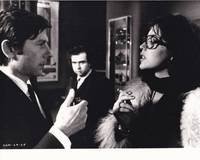 The Tenant (Original photograph of Roman Polanski, Isabelle Adjani, and Philippe Sarde on the set of the 1976 film)