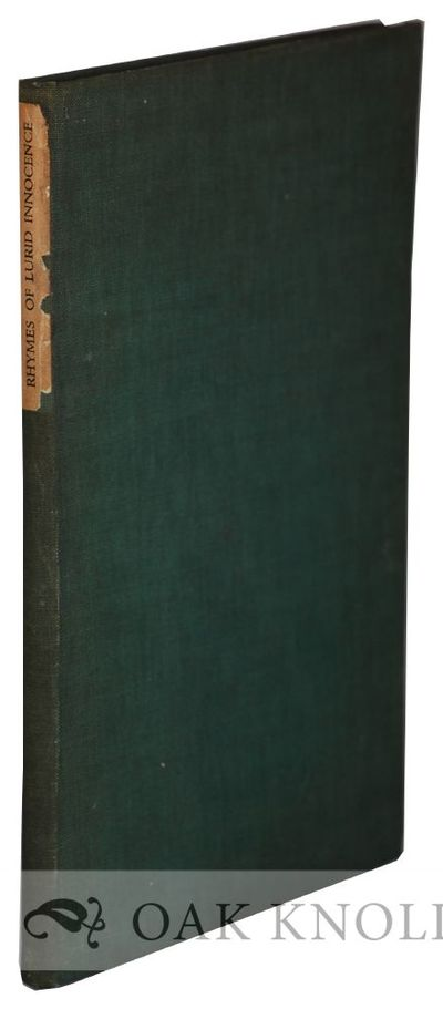 Campden, Gloucestershire, England: The Alcuin Press, 1933. cloth, dust jacket, paper spine label, to...