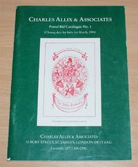 image of Postal Bid Catalogue No. 1 or Catalogue of Interesting Items on Antiquarian Horology offered for sale by Charles Allix & Associates