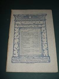 The Theosophic Messenger for October 1909