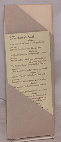 image of Paradise Press catalogue