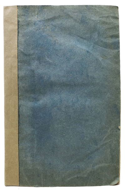 Washington: Printed by Gales & Seaton, 1828. 1st edition (American Imprints 36504). Period blue pape...