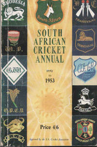 South African Cricket Annual 1952 - 53 (Volume 2)