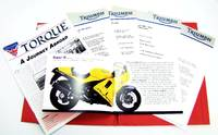 image of 1995 Triumph Motorcyle Product Lineup: Canadian Press Kit