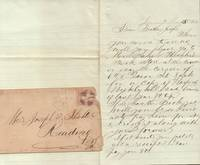 Book Request for Sam Hechler's Book Store in Reading, PA [Civil War Era  Letter]