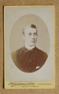 Carte De Visite Photograph: A Portrait of Young Man.
