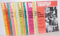 image of International viewpoint [22 issues for the year 1983]
