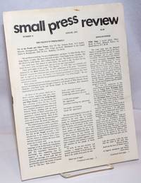image of Small Press Review: review of small-press publications; vol. 7, #7, Whole Number 31, August 1975