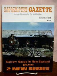 image of NARROW GAUGE AND SHORT LINE GAZETTE - SEPTEMBER, 1975; VOLUME 1, NUMBER 4