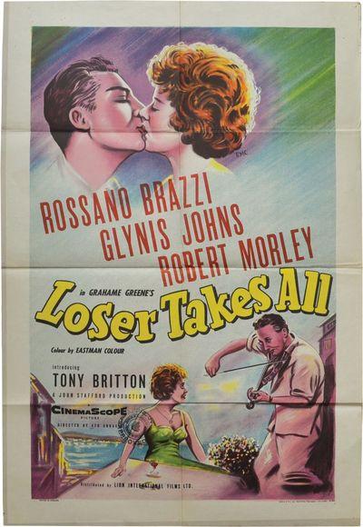 London: Independent Film Producers / Distributor's Corporation of America, 1956. Original British qu...