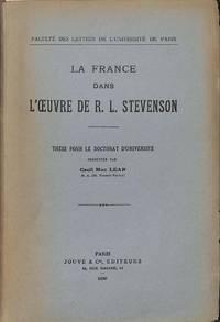 La France Dans L'oeuvre De R.L.Stevenson.