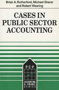 Cases In Public Sector Accounting
