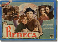 Rebecca [Rebeca] (Spanish photoplay edition for the 1940 film)