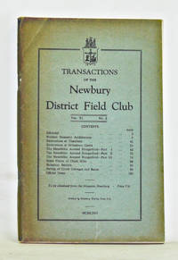 Transactions of the Newbury District Field Club, Volume 9, Number 2