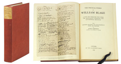 8vo. Oxford: Clarendon Press, 1905. 8vo, xxxvi, 384pp.Folding frontispiece of facsimile manuscript. ...