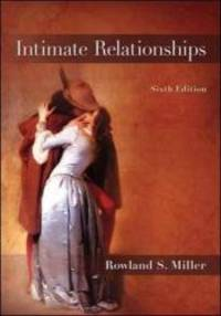 Intimate Relationships by  Rowland Miller - Paperback - 2011-10-17 - from Books Express (SKU: 0078117151n)
